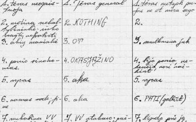 Literatūros sienos griuvimas: Jūratę Čerškutę kalbina Tomas Vaiseta (NŽ-A nr. 7)