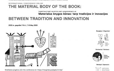 Ar aktualus popierinis knygos kūnas? Jolitos Liškevičienės Ievos Pleikienės pokalbis apie knygos meno konferenciją (NŽ-A nr. 4)